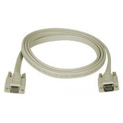 Flat VGA Extension Cable - Male-to-Female