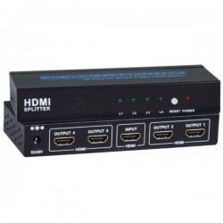 4K HDMI 1.4 Splitter, 2- and 4-Port