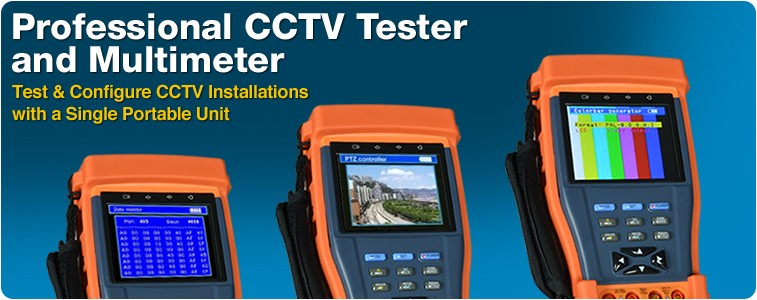 Professional CCTV Tester and Multimeter