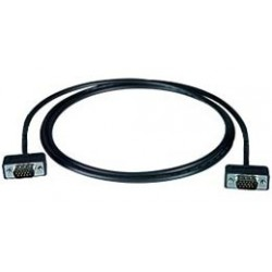 Ultra Thin VGA Monitor Cable - Male-to-Male