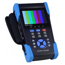 Professional CCTV Tester with Power Over Ethernet (PoE) and IP Testing