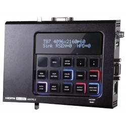 4K Ultra HD HDMI Video Test Pattern Generator/Analyzer
