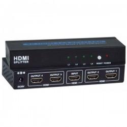 4K HDMI 1.4 Splitter, 2- and 4-Port