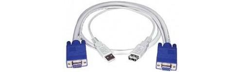 VGA + USB KVM